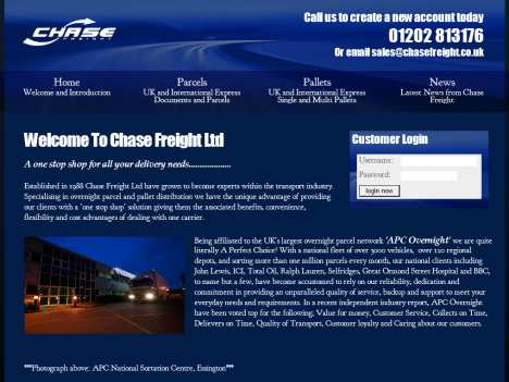 chase freight verwood