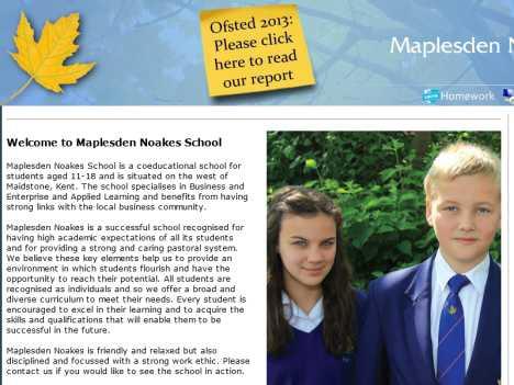 maplesden noakes homework